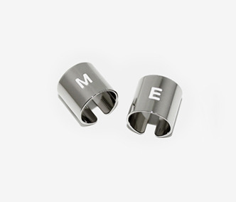 [Monday Edition] M.E Silver Initial Pipe Ring (50%off)