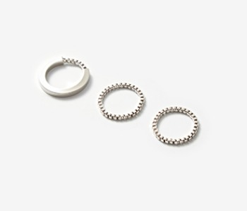 [Monday Edition] Simple Phorcys Ring Set (10%off)