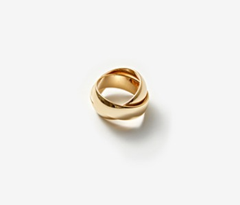 [Monday Edition] Bold Mobius Ring (10%off)