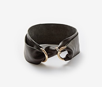 Black Ring Lock Choker (10% off)