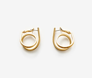 Small Coil Itself Earrings