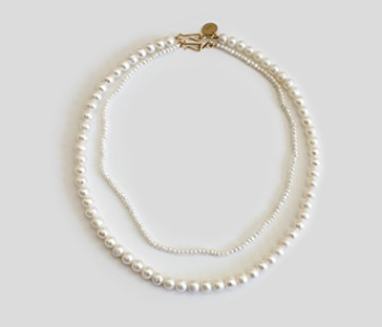The Basic Pearl Necklace SET (2주예약배송) 20% off
